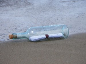 In bound links are not like a message in a bottle.
